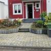 Vorgartenumgestaltung mit Betonsteinen